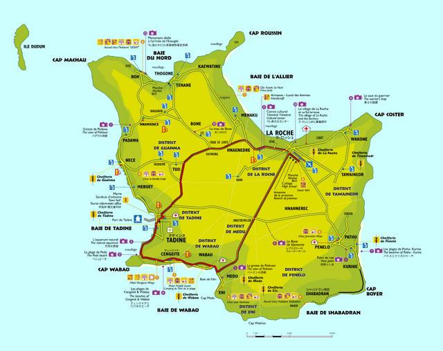 La carte de l 39 le coll ge de tadine vice rectorat de for Carte jardin de tadine